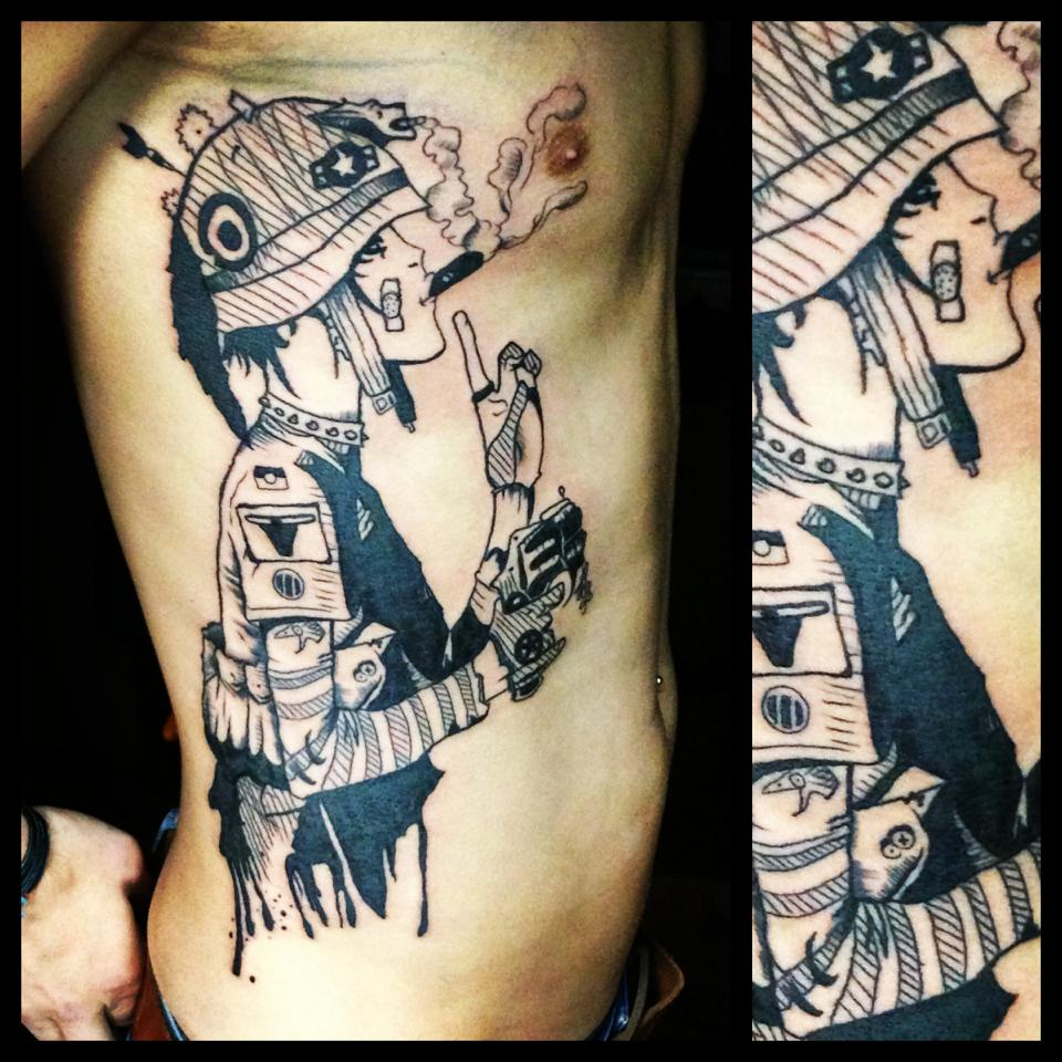 Martynas nioka street tattoo art new school tattoos for South street tattoo